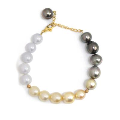 フェリーチェ 南洋真珠 ブレス