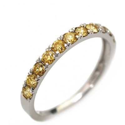 0.5ctアーガイル産ゴールデンダイヤモンドリング「スペシャリー」