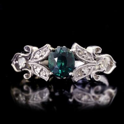 グランディディエライト ダイヤモンド リング